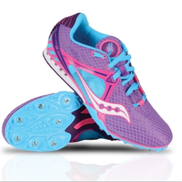 d86b2bacd4 Saucony Velocity 5 Women's Track Spikes - Size 9